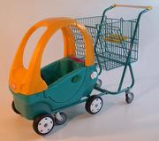 Тележка LUPO с авто для ребенка