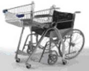 Тележка покупательская для инвалидов